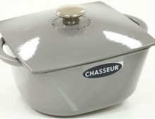 Cocotte design en fonte, made in France, Chasseur