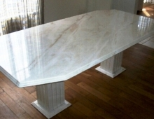 Table en marbre, Athis Marbres, made in France