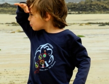 T-shirt enfant, made in France, Awell