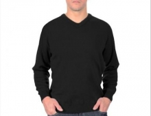 Pull homme col V, made in France, Royal Mer.jpg