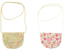 Sacoches en Liberty, Marie Puce, made in France