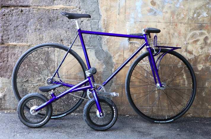 Velo DeVille et draisienne Petit Bi, made in France par Victoire Cycles
