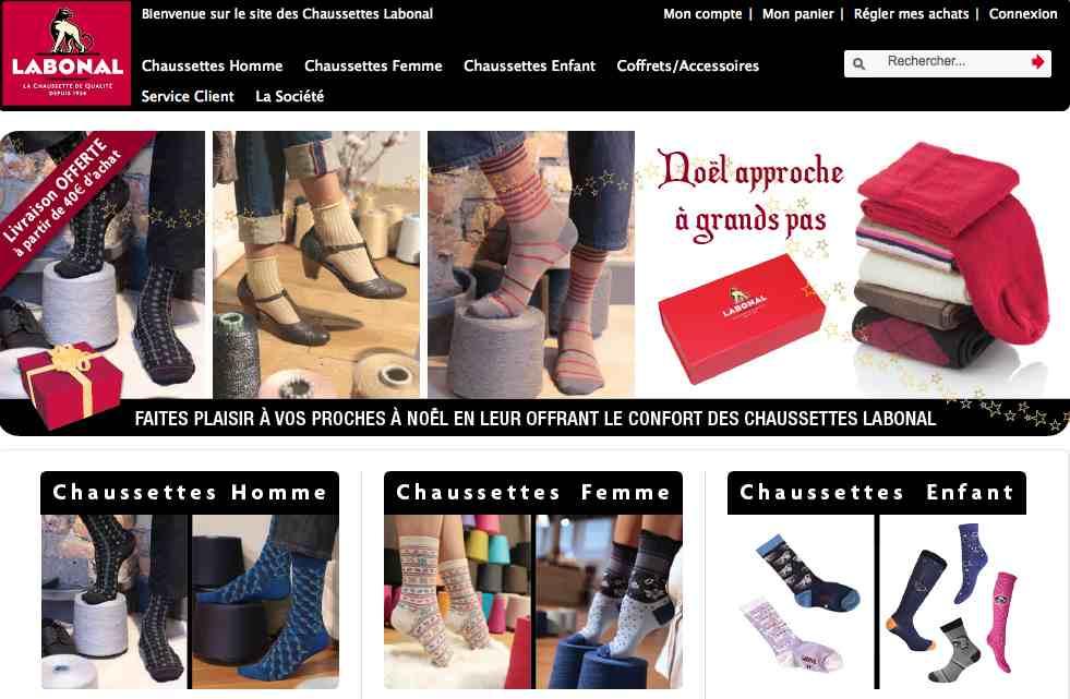 Labonal, chaussettes made in France pour homme et femme