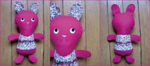Kolinosté doudou lapin n°162