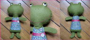 doudou grenouille Kolinosté