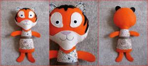 doudou tigre Kolinosté