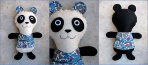 doudou panda Kolinosté