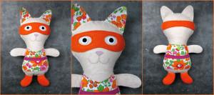 doudou super-chat Kolinosté