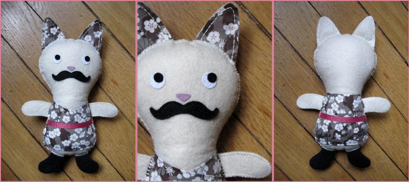 doudou bobo-chat Kolinosté