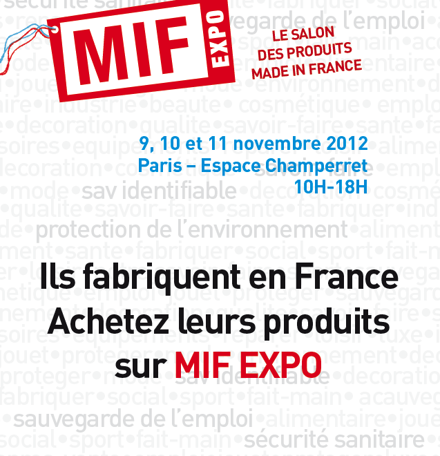 Mif expo 1er salon made in france pour le grand public for Salon made in france