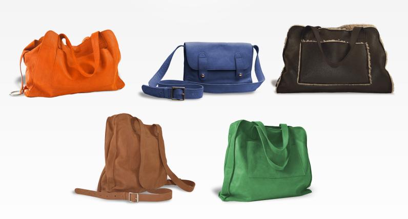 Des Sacs, sacs cuir  fabriqués en France pour femme
