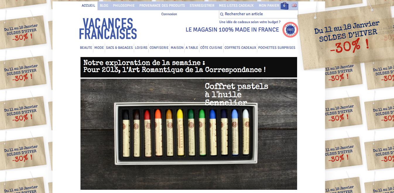 Vacances françaises, produits fabriqués en France5