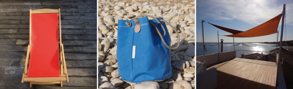 Chilienne, sac et voile d'ombrage made in France, Espritvoiles