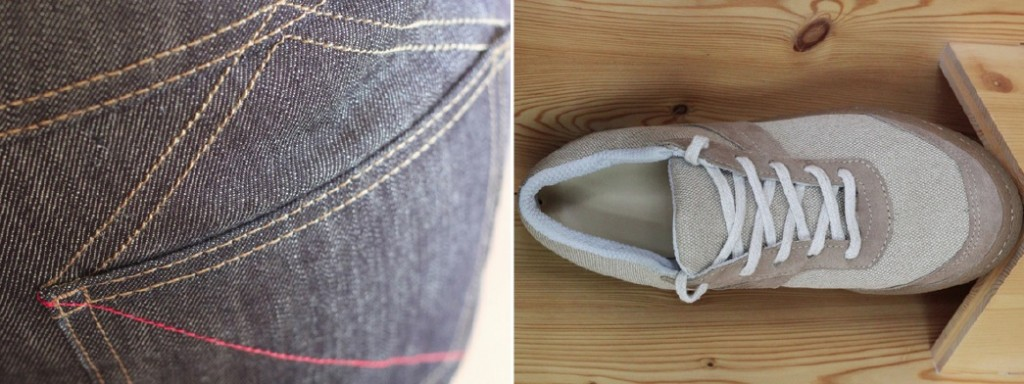 Le jeans et la tennis made in France, selon 1083