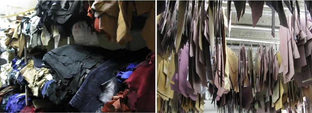 D'un côté des peaux, de l'autre les patrons de tous les modèles DKS. ©LFH
