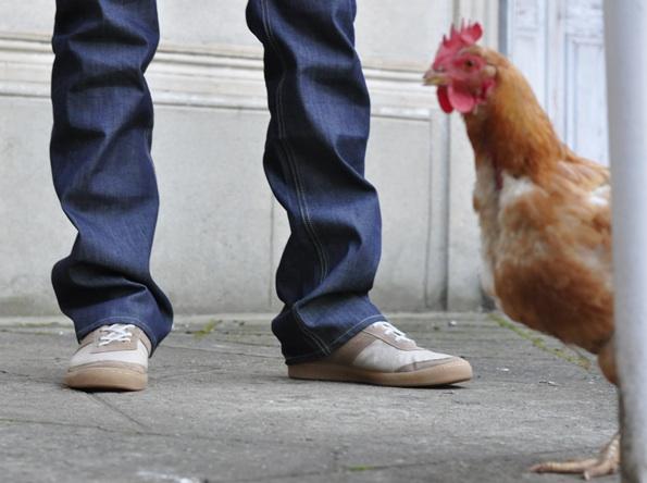 Sneakers et jeans 1083, fabriqués en France
