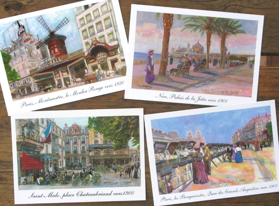 Artscope, cartes postales fabriquées en France