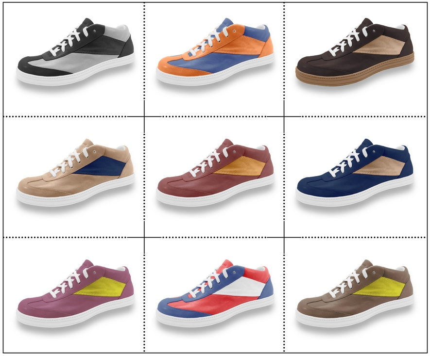 Sneakers AtelierPM, personnalisables et made in France