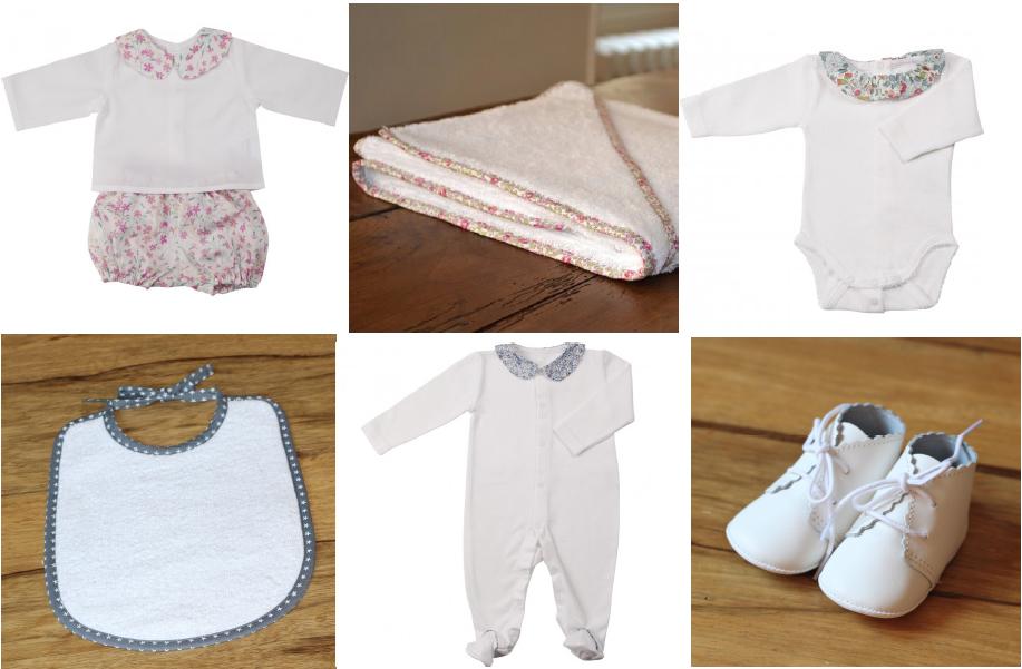 Amaïta, vêtements nouveau-nés fabriqués en France
