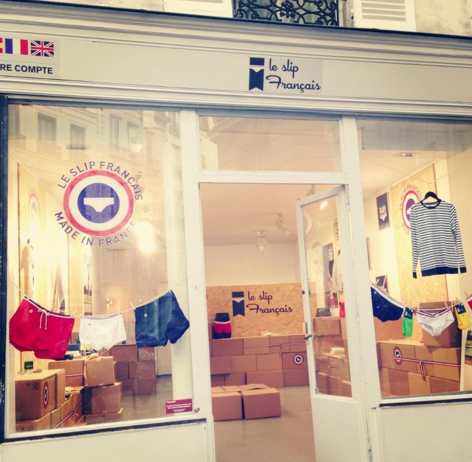 Boutique éphémère Le Slipfrançais