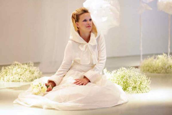 "Robe de mariée ""made in France"" de Valérie Pâche, La Cocarde Verte"