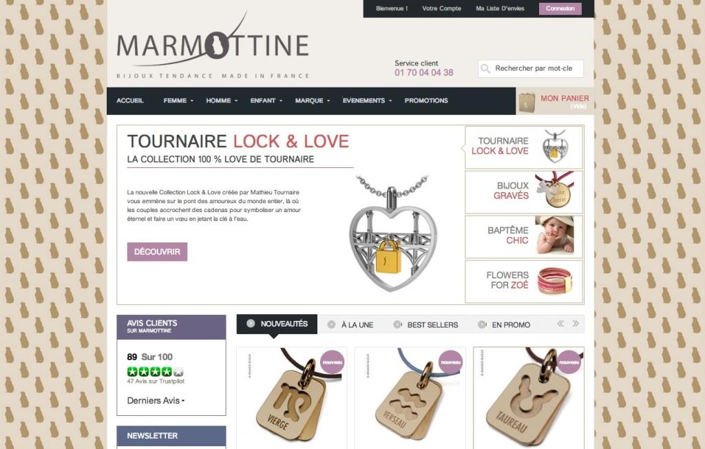 Marmottine, nouveau site Internet