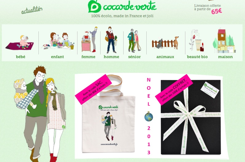 Cocarde Verte, produits ecolo made in France