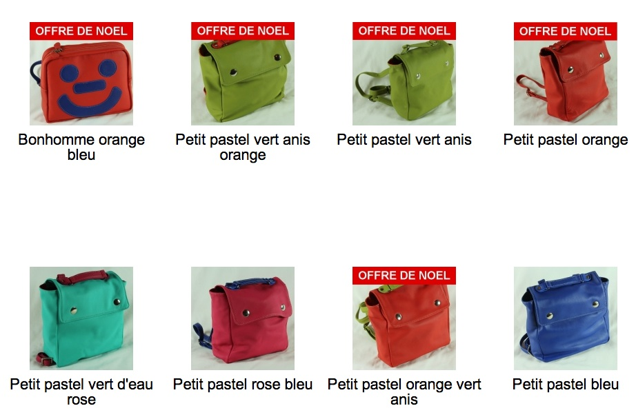 MesPetitsSacs, sacs en cuir made in France