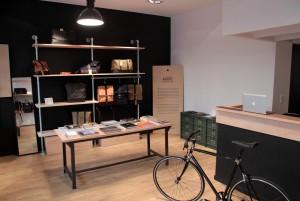 La boutique d'Ateliers Auguste, dans le 11e arrodissement de Paris