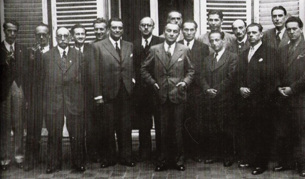Les membres du CNR, pères de la Sécu et de la retraite notamment…