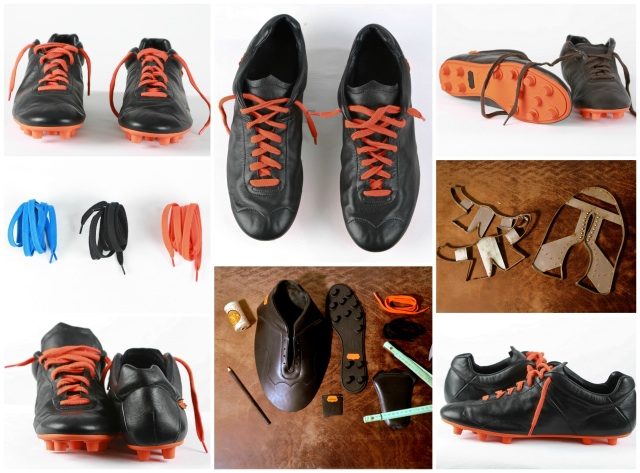 Milemil, chaussures de foot en cuir et made in France