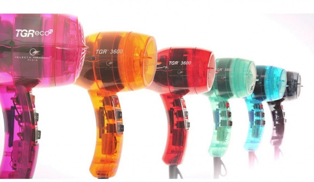 Sèche-cheveux Velecta Paramount, fabriqués en France