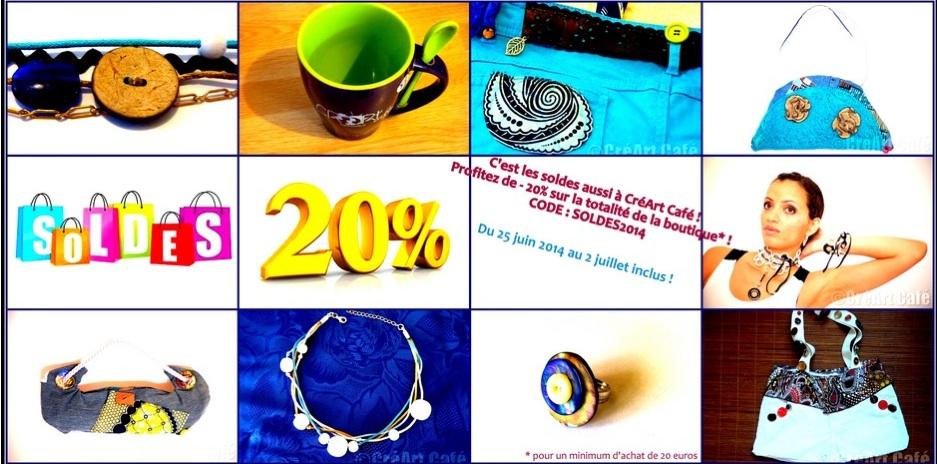 Soldes CréartCafé, accessoires made in France