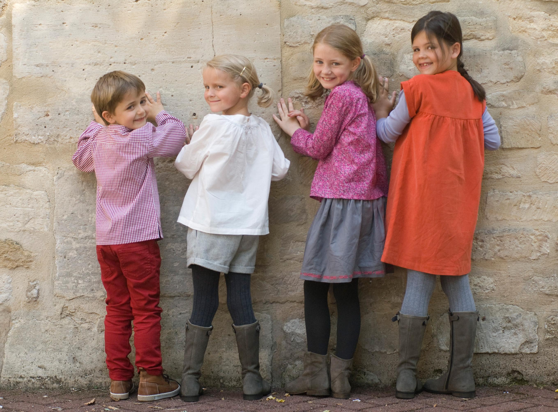 Marie Puce, tenues enfant et jeunes filles fabriquées en France
