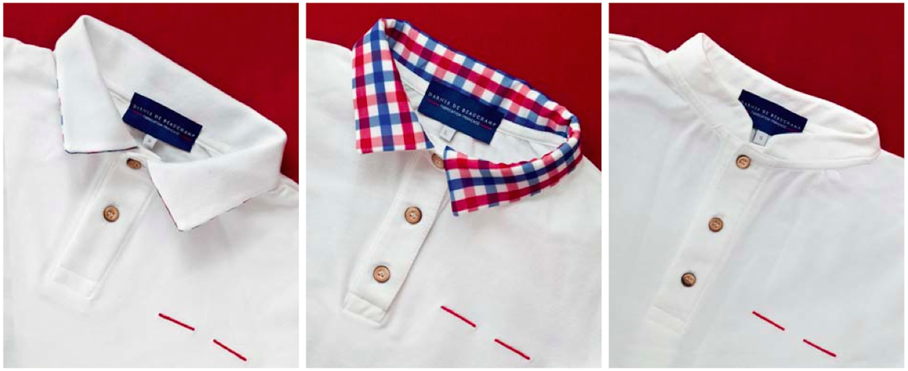 Polos Darnis de Beauchamp, made in France