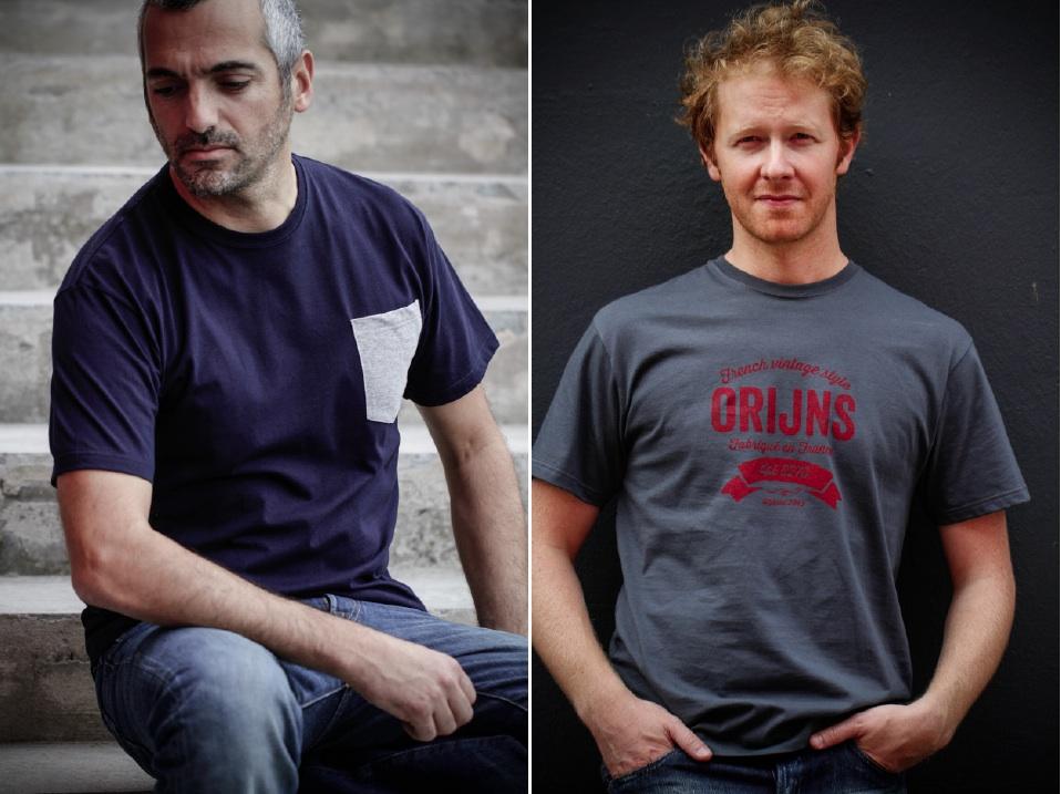 Orijns, nouveaux t-shirts homme made in France