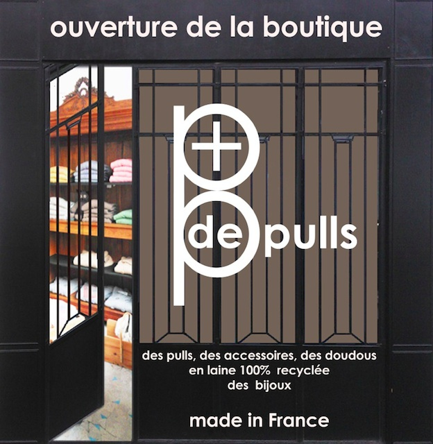 Pulls made in France - ouverture boutique Plus de Pulls