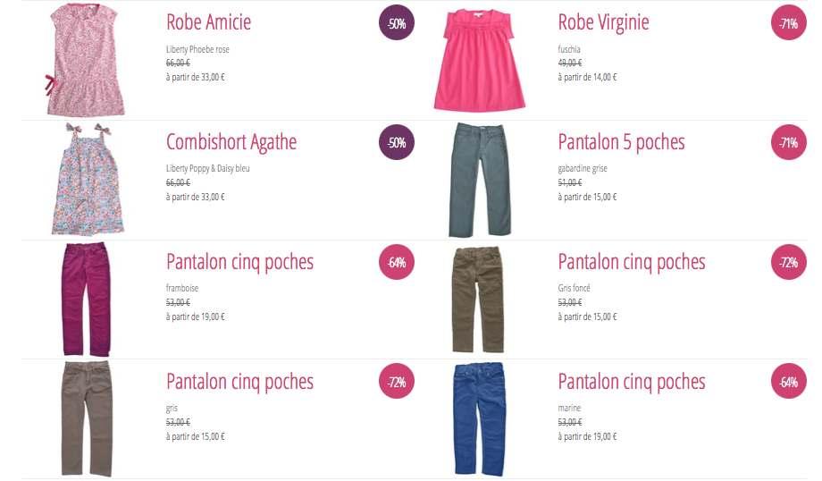 Marie Puce, tenues et accessoires enfants en partie made in France