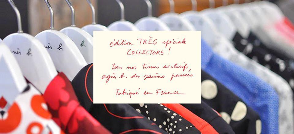 Chemises collectors et made in France chez Agnèsb