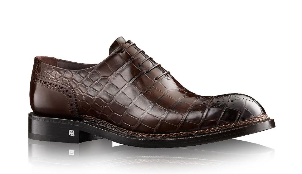 Chaussures hommes Louis Vuitton, made in Italy