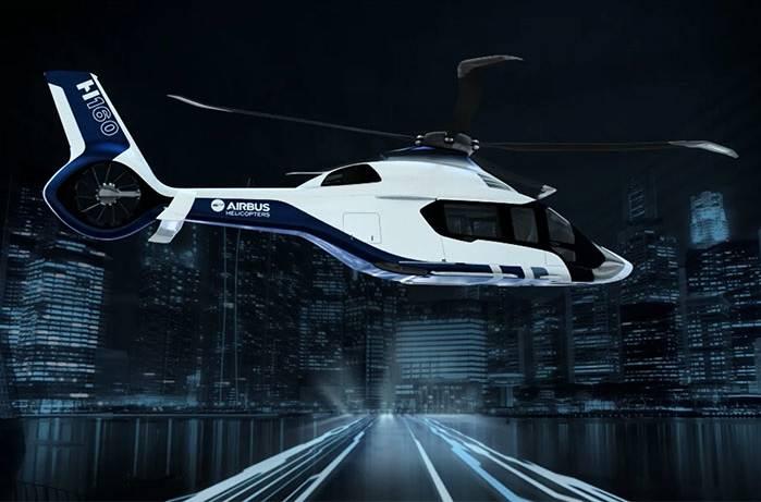 Le futur Airbus H160 sera équipé d'une turbine Arrano Turbomeca made in France. © Airbus Helicopter