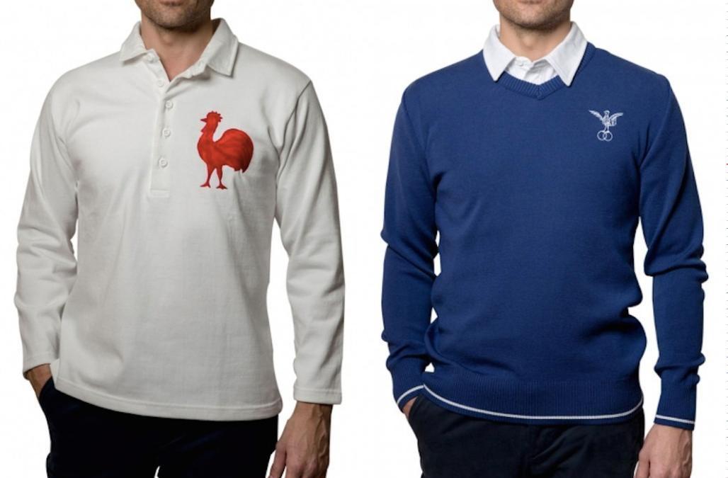 Sports d'époque, sportswear d'hier et d'aujourd'hui fabriqué en France