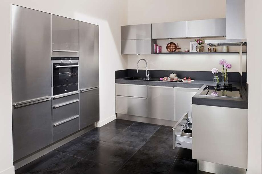 cuisine inox fr d ric anton de lapeyre fabriqu e en. Black Bedroom Furniture Sets. Home Design Ideas