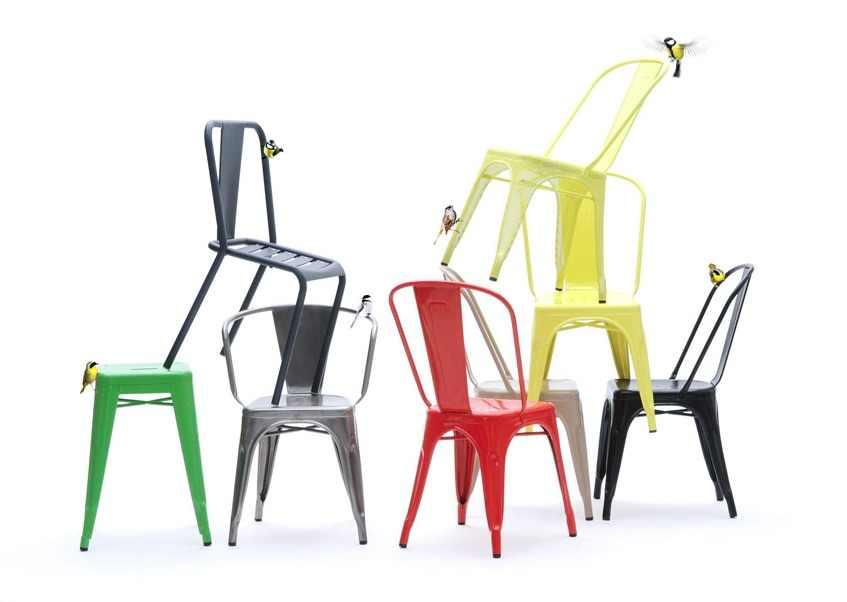Tolix : meubles en métal chargés d'histoire et made in France