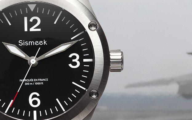Sismeek Sea Diver, montre homme made in France