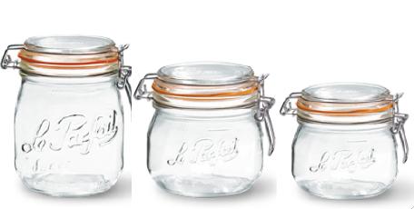 Utile, sain, recyclable et made in France, voici le bocal en verre Le Parfait
