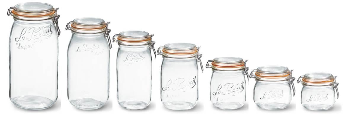 Le Parfait, le bocal en verre made in France