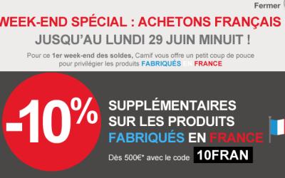 Camif et Matelsom : 10 % de remise en plus sur le made in France