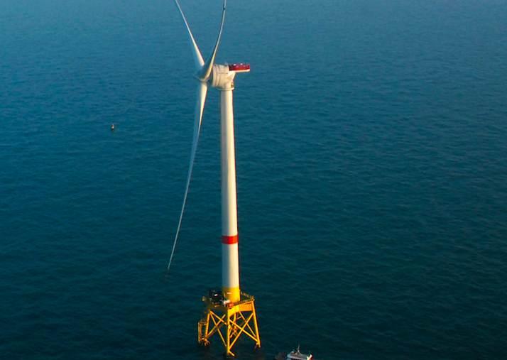 Eolien offshore : premiers succès d'une nouvelle industrie made in France