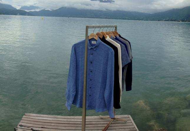JagVi : des chemises en lin pour homme fabriquées en France
